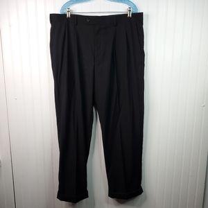 Axist Super 100s Hi-Twist Pleated Dress Pants